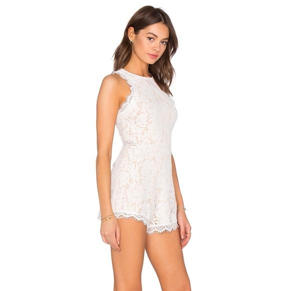 4f82698e5ba Endless Rose Pants - Endless Rose Woven Lace Romper Off White & Nude